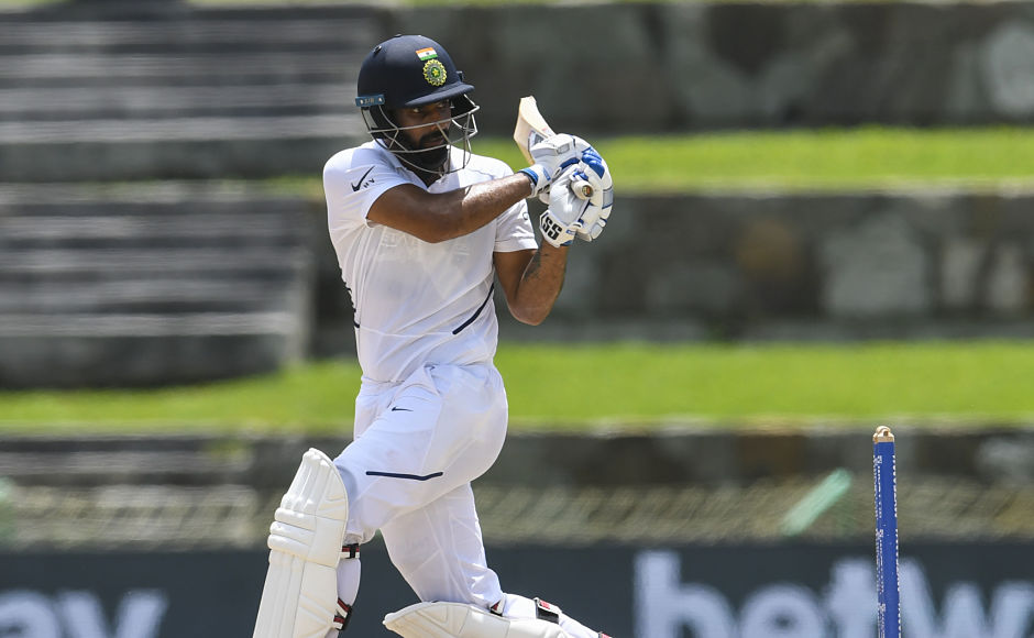 After a century from Rahane, fans were entertained to a Hanuma Vihari special after he played a knock of 93 runs. It would have been his maiden Test ton had Vihari got there. AFP