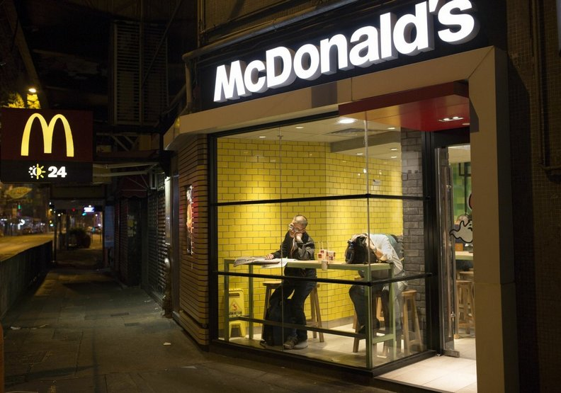 麥當勞成了許多香港人的「家」