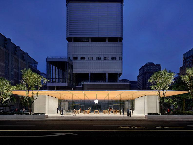 A13首先開出了亞洲第一間蘋果旗艦店