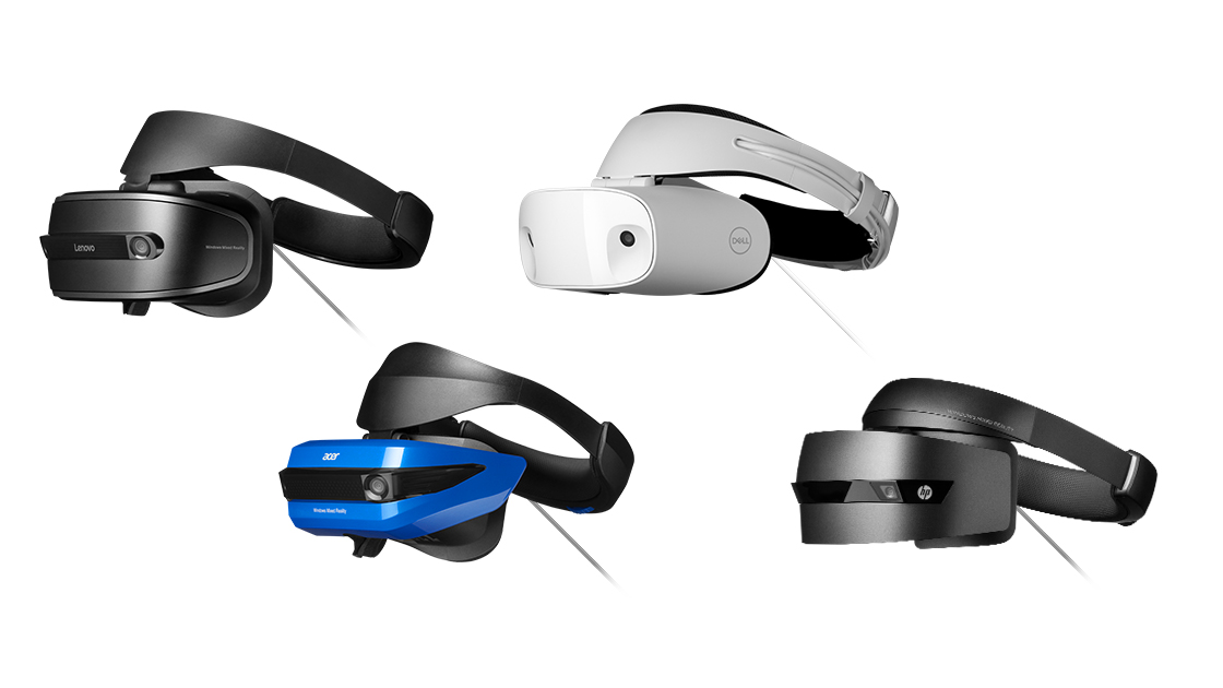 Microsoft's mixed reality headsets could save VR