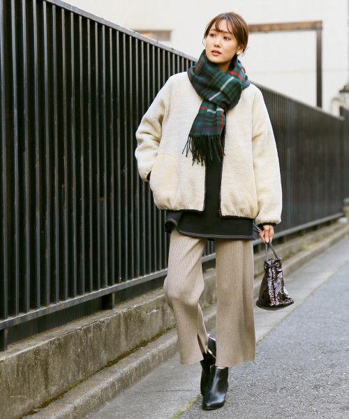 不再困惑該怎麼穿!日本女生「刷毛外套」穿搭攻略