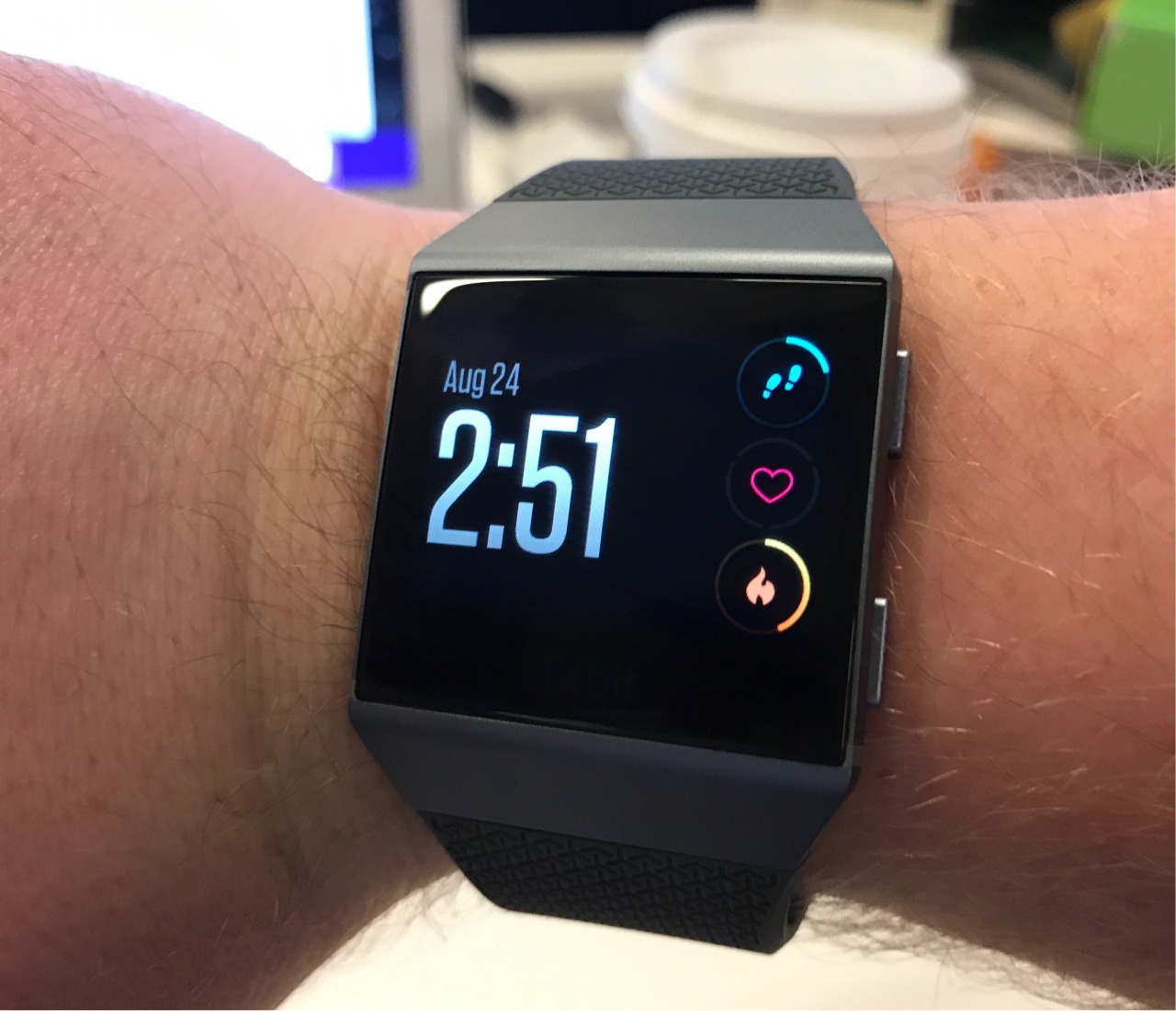 Fitbit's Ionic smartwatch is here to take on the Apple Watch