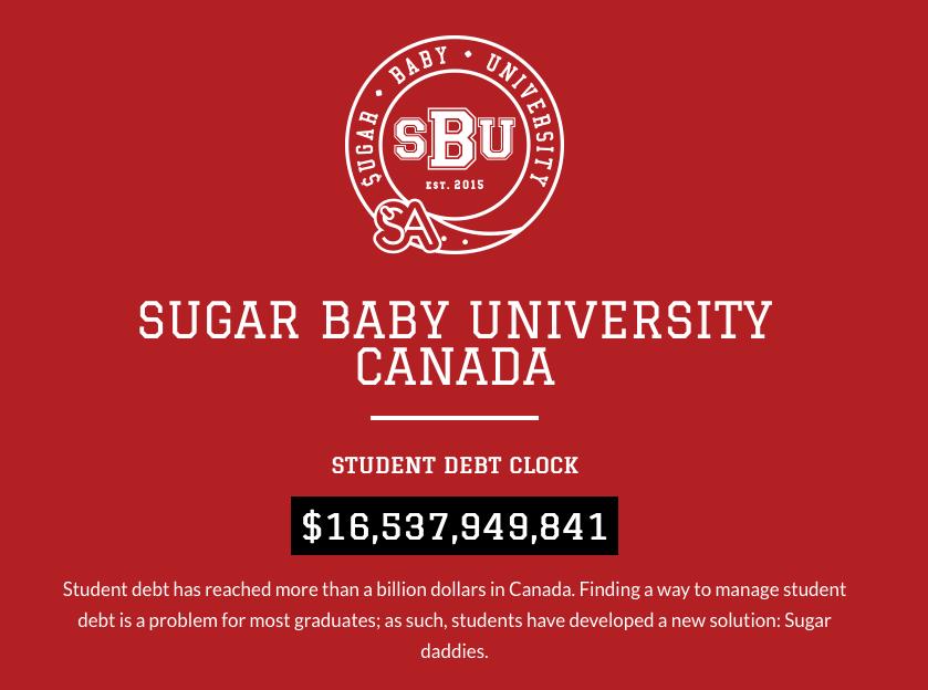 nl sugar baby university canada