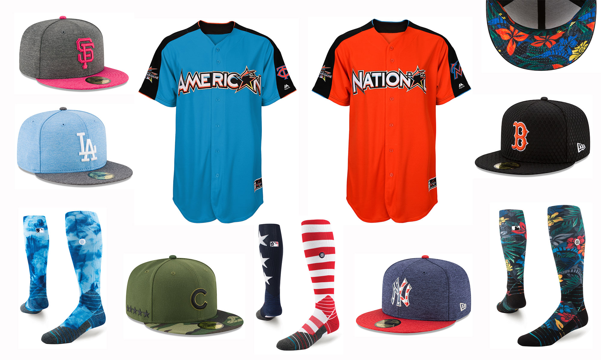 ecbd229f Various holiday and special event uniforms for the 2017 baseball season.  (MLB)