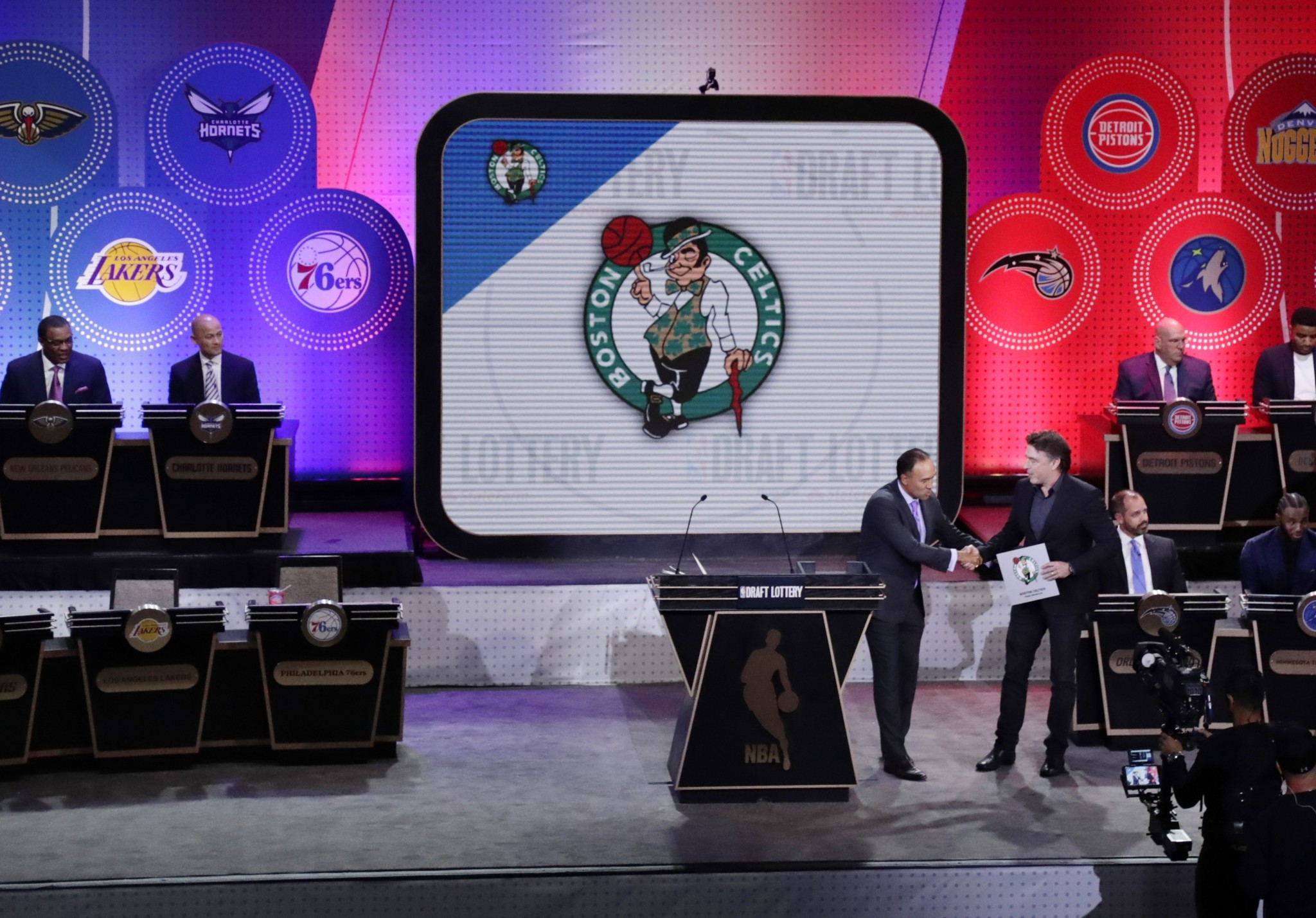 Inside the NBA's draft lottery drawing room
