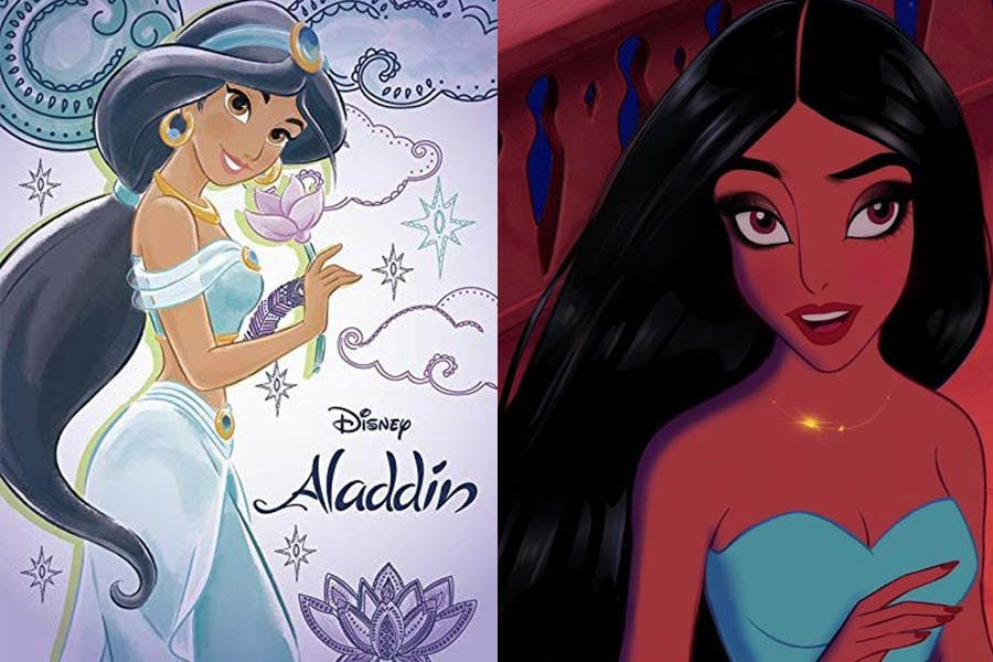 迪士尼公主 Yudelmis 《阿拉丁》茉莉|美周報
