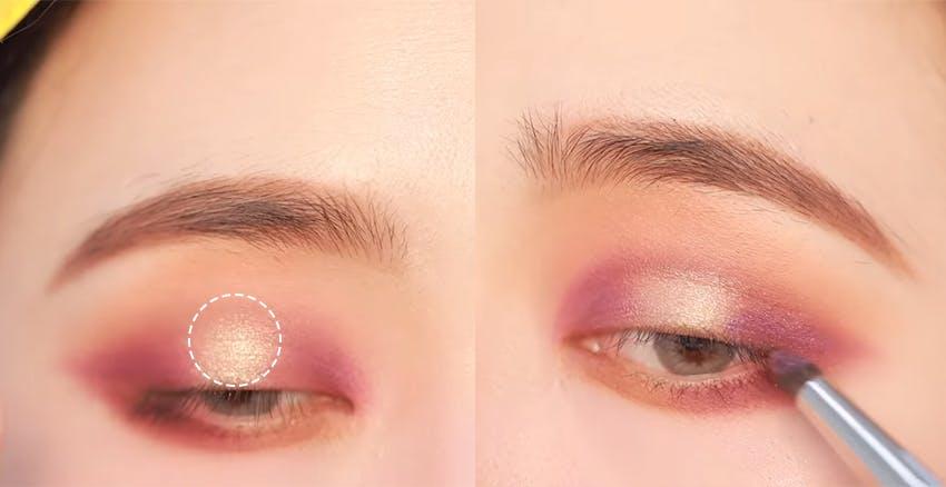 珠光色的堆疊讓眼影精緻化|美周報