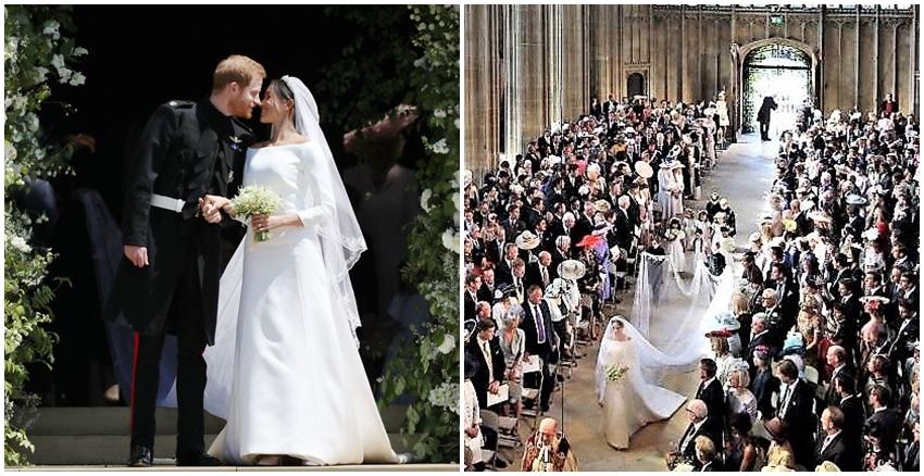 哈利王子 梅根 婚禮|美周報