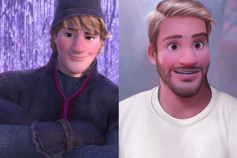 迪士尼公主 Yudelmis 《冰雪奇緣》阿克|美周報