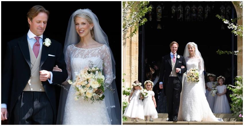 英國貴族小姐結婚|美周報