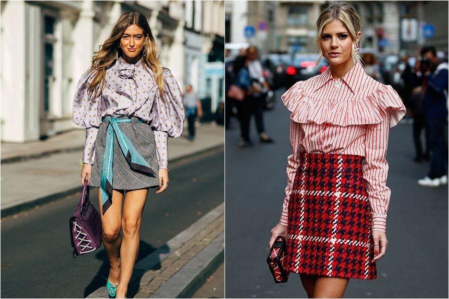 時尚 裙子 短裙 格紋 格紋短裙 夏日穿搭