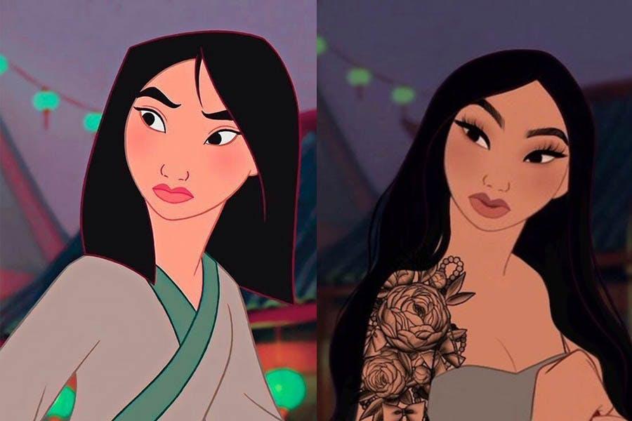 迪士尼公主 Yudelmis 《花木蘭》花木蘭|美周報