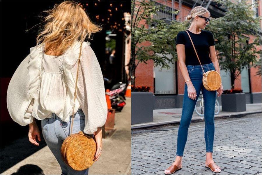 時尚 配件 包包 夏日流行 草編包