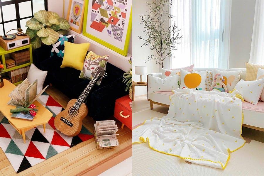 房間佈置 改造 裝潢 擺設 繽紛 色彩 活潑 美周報