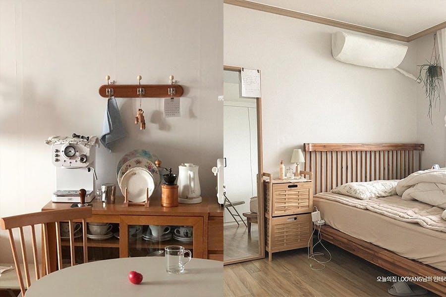 房間佈置 改造 裝潢 擺設 原木風 美周報