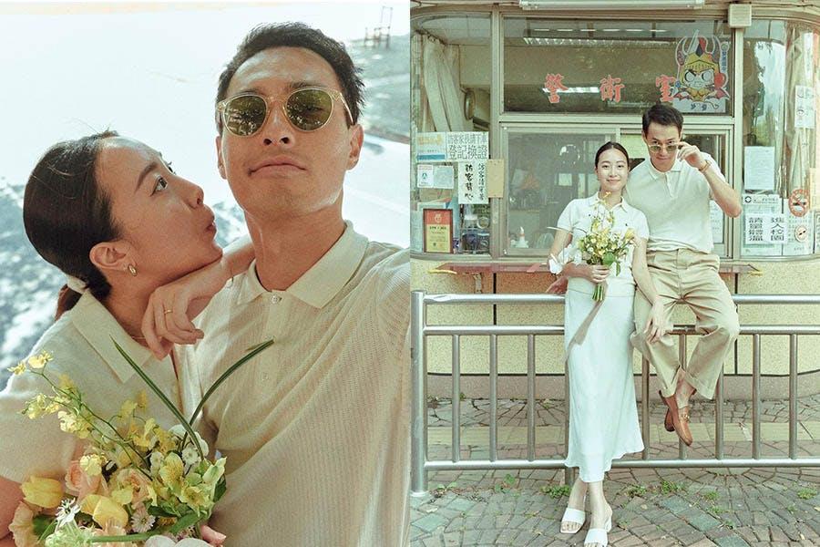 楊祐寧 婚紗 結婚|美周報