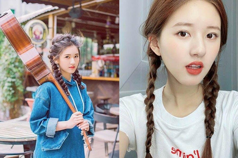趙露思 髮型 髮型推薦 雙麻花辮|美周報
