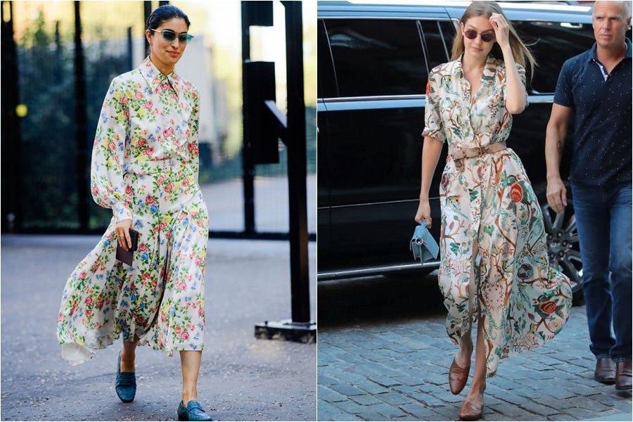 時尚 洋裝 碎花洋裝 洋裝穿搭