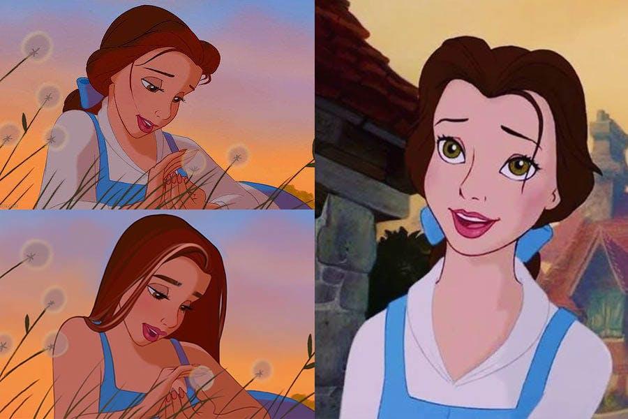 迪士尼公主 Yudelmis《美女與野獸》貝兒|美周報