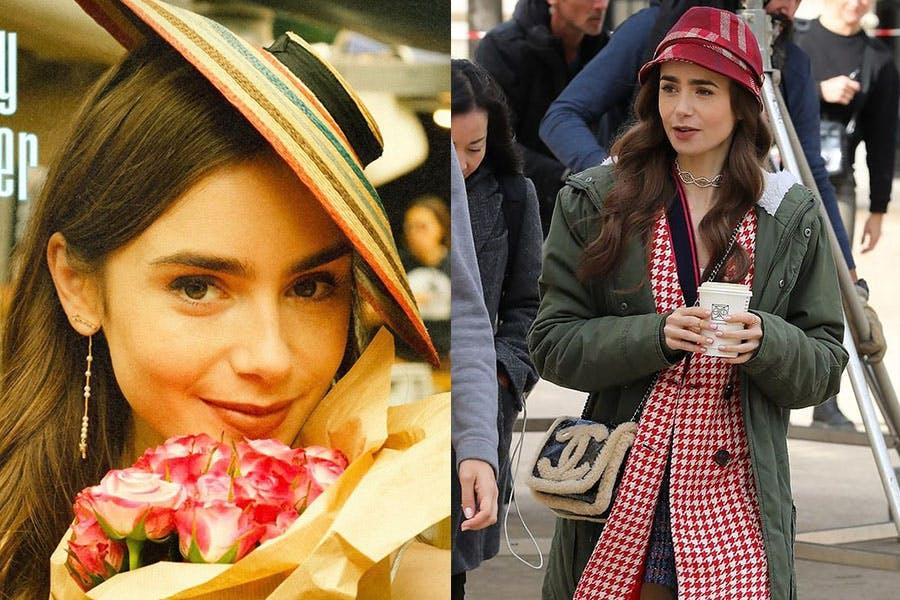 Netflix劇集 艾蜜莉在巴黎 Emily in paris 莉莉柯林斯 Lily Collins 帽款穿搭 小禮帽|美周報