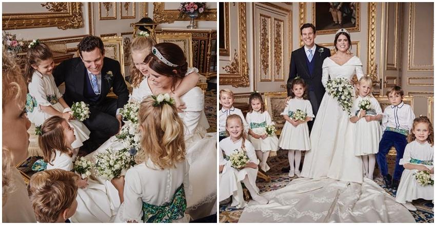 尤金妮公主皇室婚禮|美周報