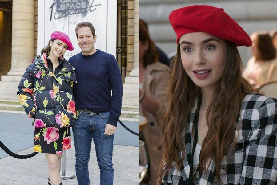Netflix劇集 艾蜜莉在巴黎 Emily in paris 莉莉柯林斯 Lily Collins 帽款穿搭 貝蕾帽|美周報