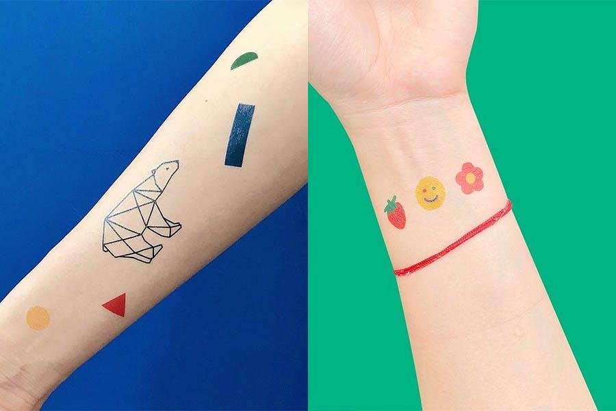 紋身貼紙 刺青貼紙|美周報