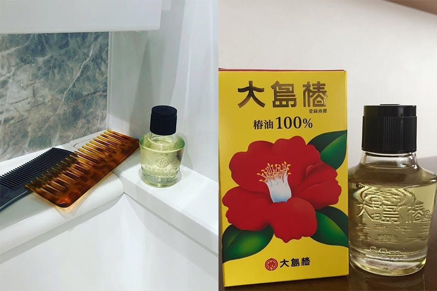 護髮 免沖洗 護髮油推薦 大島椿 100%黃金椿油|美周報