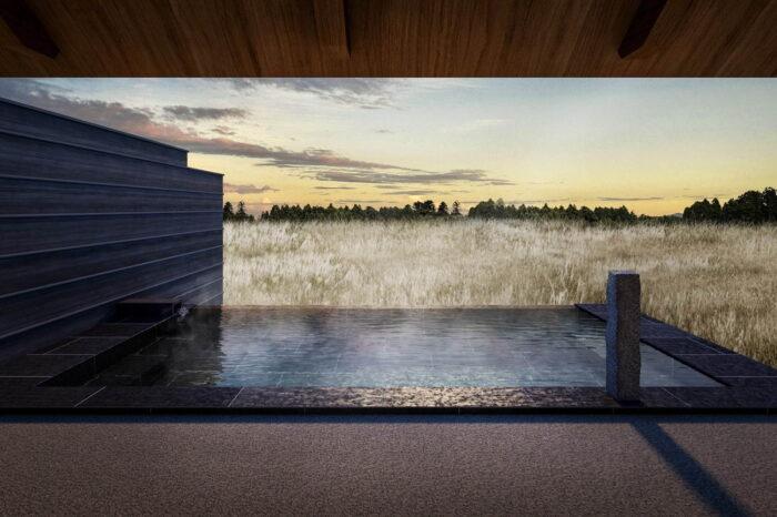 全景湯浴小屋