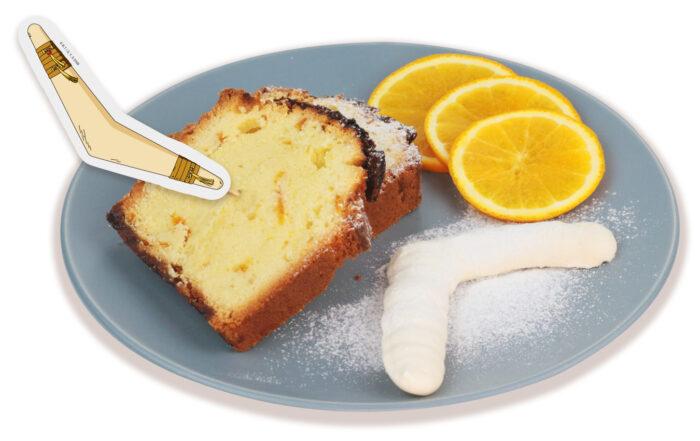 甜點_珊瑚的君度柳橙磅蛋糕