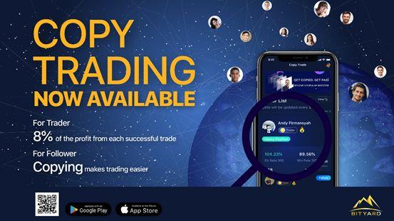 Bityard Copy Trade Makes Crypto Contract Trading Easier