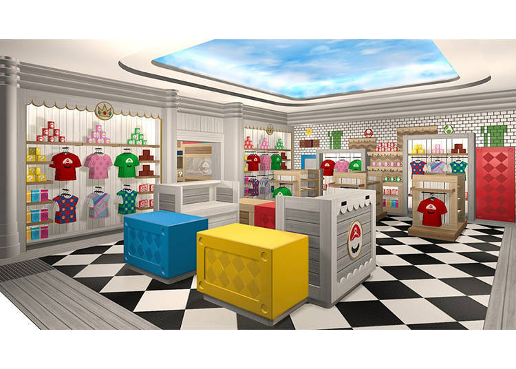 商店內部示意圖 圖片提供:日本環球影城(Universal Studios Japan)