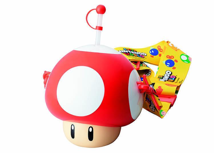 飲品(超級香菇水壺)※1人限購3個 圖片提供:日本環球影城(Universal Studios Japan)