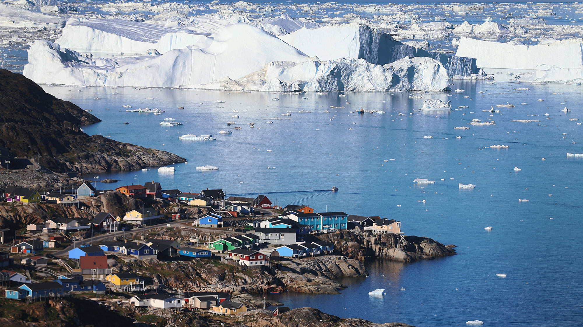Greenland Lost 217 Billion Tons of Ice Last Month