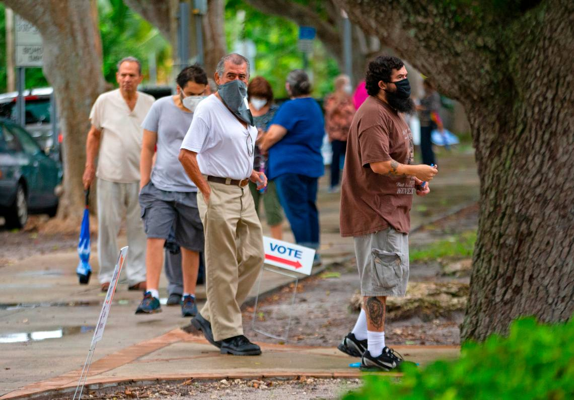 Florida is voting early. Here's how many Democrats and Republicans are showing up