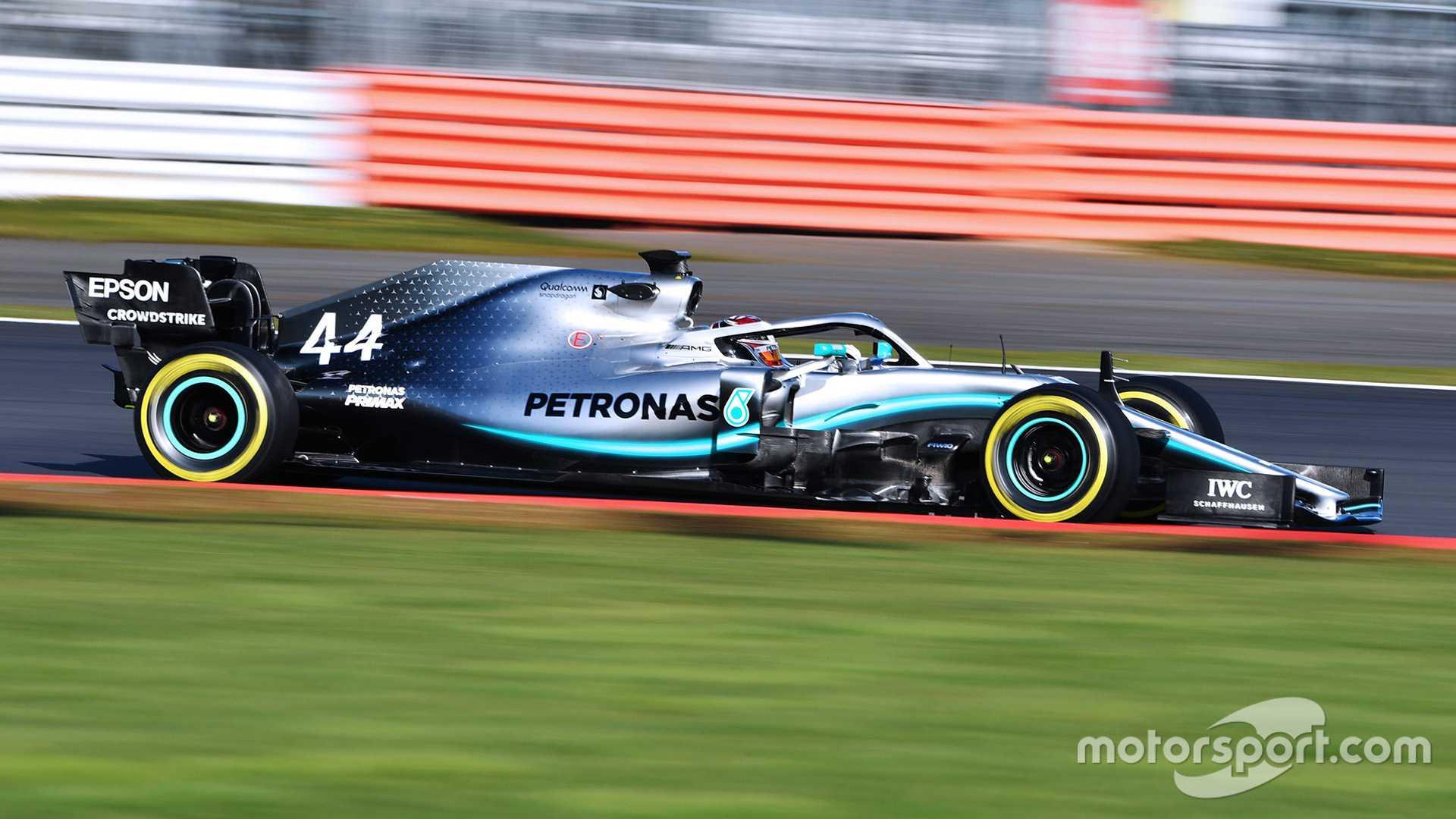 汉密尔顿:'第一次约会'新梅赛德斯W10'最好的