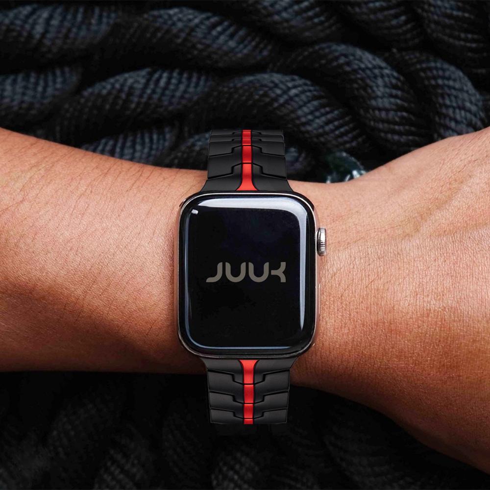 JUUK Vitero Apple Watch Rosso | Elise Japan