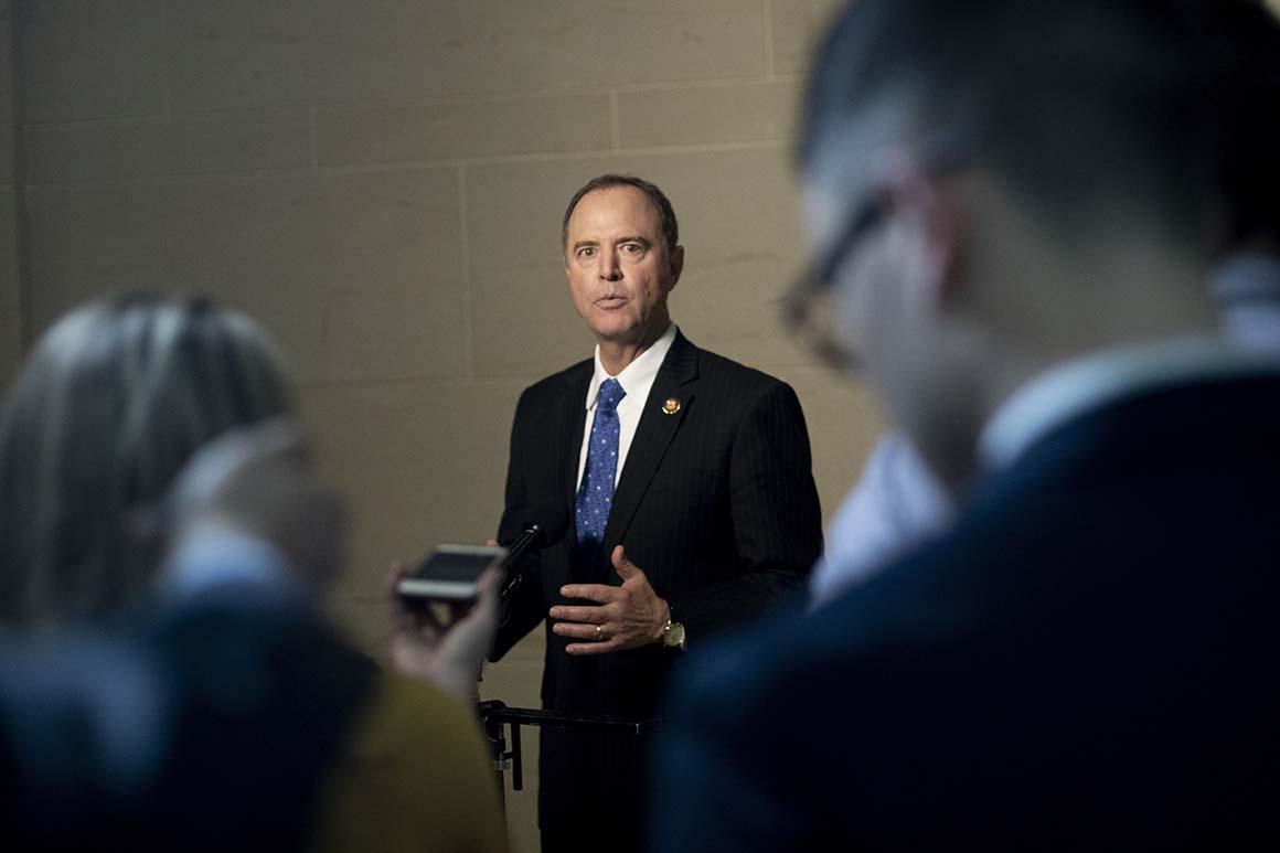 Schiff accuses Bill Barr of 'weaponizing' DOJ