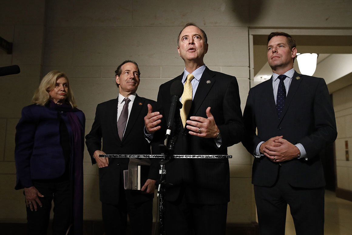 Trump makes very powerful case for impeachment based on obstruction, Schiff warns
