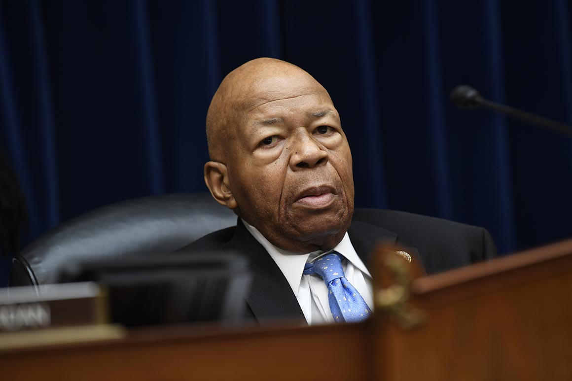 Trump lashes out at Cummings over border detention criticism