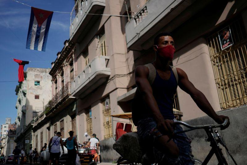 COVID-19-Ausbruch in Havanna | Bildquelle: https://in.finance.yahoo.com/news/pandemic-eases-elsewhere-caribbean-states-170929505.html © Na | Bilder sind in der Regel urheberrechtlich geschützt