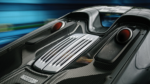 Porsche 918 Spyder Engine