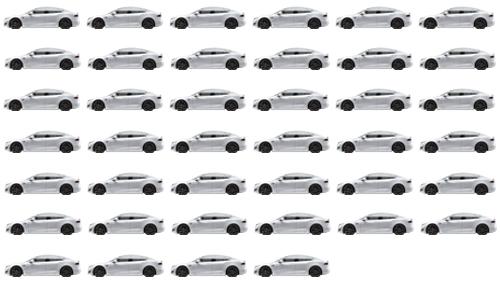 40 Teslas