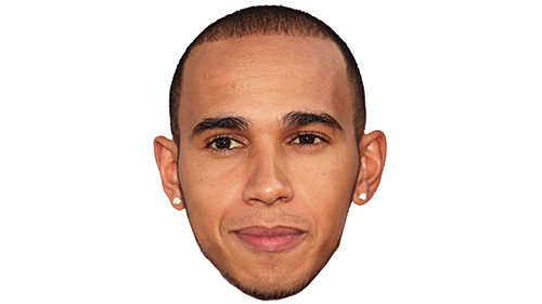 F1 Champ Lewis Hamilton
