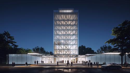 La Maison LVMH/Arts-Talents-Patrimoine in Paris, designed by Frank Gehry