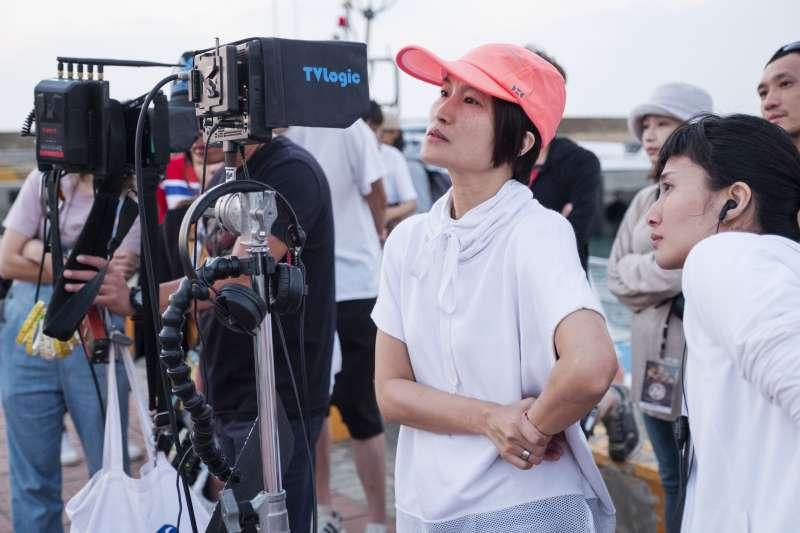 20190125-電影《大三元》導演陳怡妤工作照側拍。(好孩子國際娛樂提供)