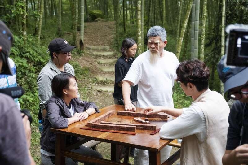 20190125-電影《大三元》工作照,監製澎恰恰。(好孩子國際娛樂提供)