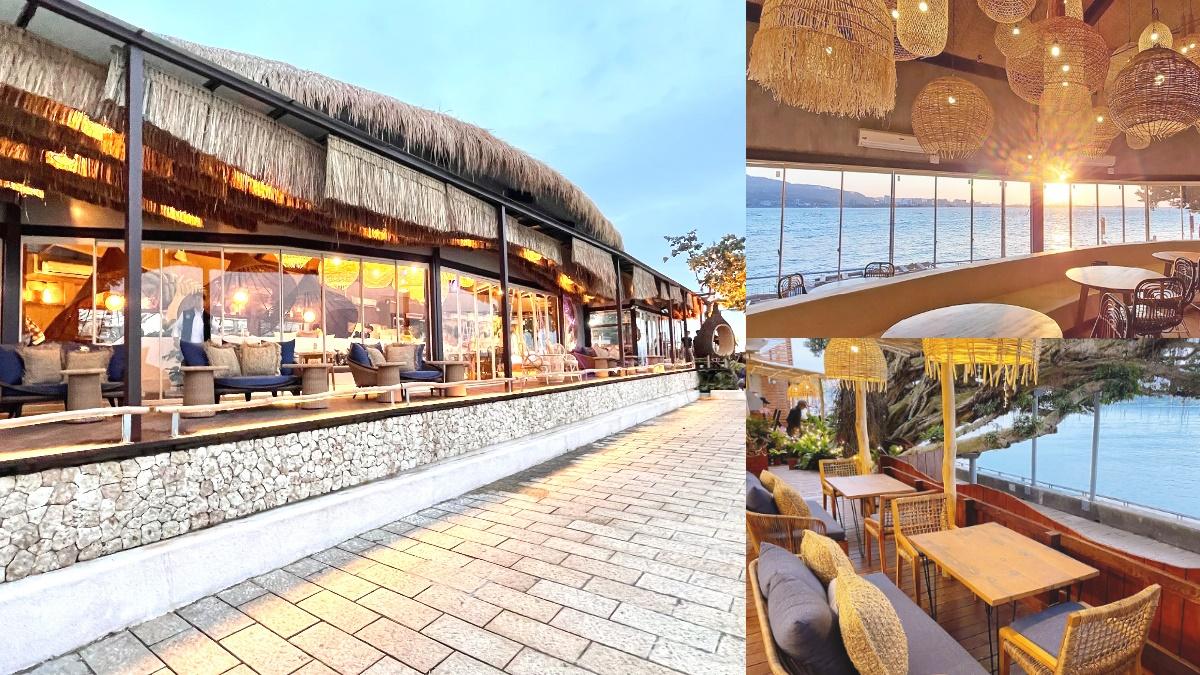 榕樹葉、玻璃窗包廂IG狂拍!淡水人氣咖啡廳重新開幕,爽躺沙發看夕陽+住「