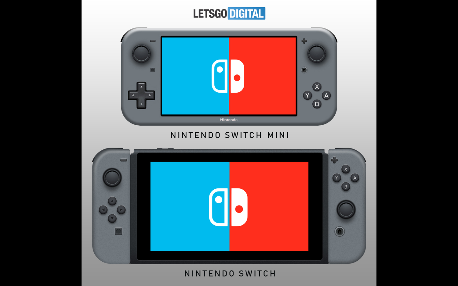 Here's the Rumored Nintendo Switch Mini Compared to the Current Switch