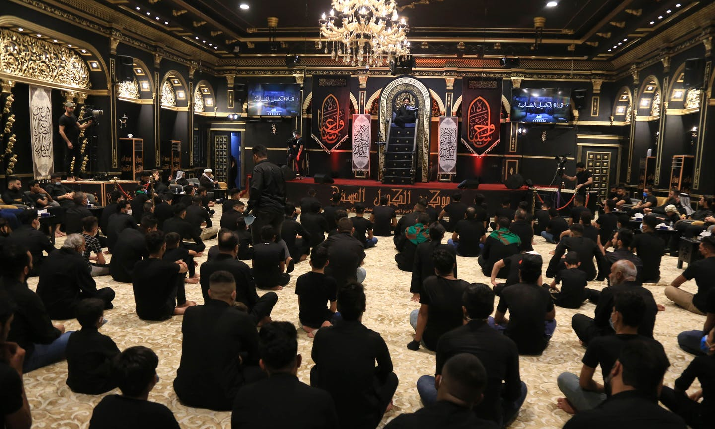 The largest contemporary Muslim pilgrimage isnt the hajj to Mecca, its the Shiite pilgrimage to Karbala in Iraq